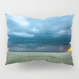 Regeneration - Storm Strengthens With Amazing Color in Texas Pillow Sham
