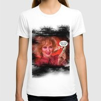 jessica lange T-shirts featuring Don't fuck with the Lange by Sabuchan
