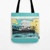 alaska Tote Bags featuring Alaska by Ursula Rodgers