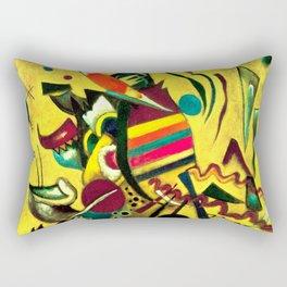 Wassily Kandinsky - Points - Abstract Art Rectangular Pillow