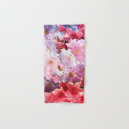Cherry Blossom Hand & Bath Towel