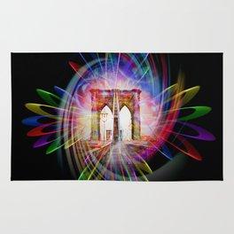 Abstract perfektion - Brooklyn Bridge Rug