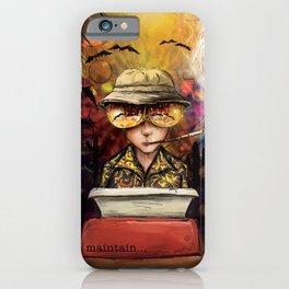 Maintain iPhone Case