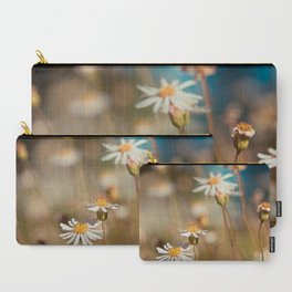 Field of Daisies - Floral Photography #Society6 Carry-All Pouch