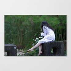kiss me deadly Canvas Print