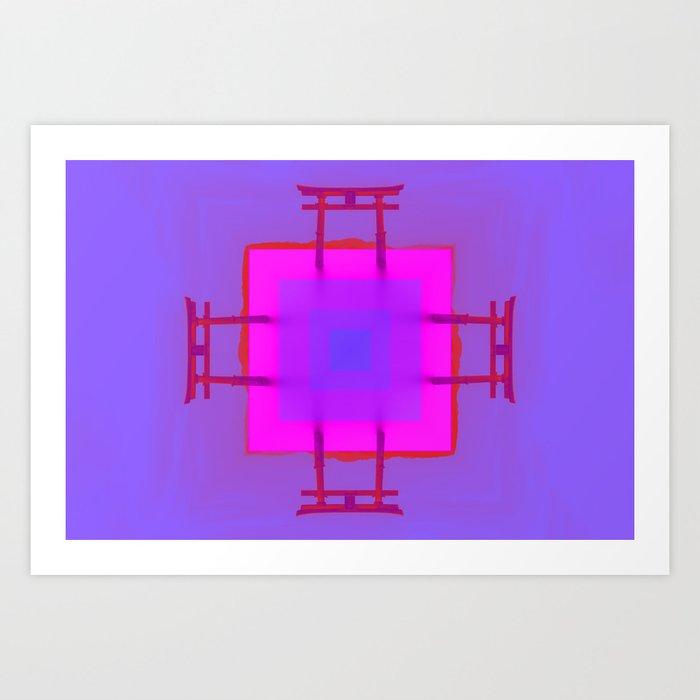 T E M P L E Art Print