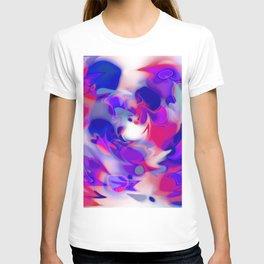 swirl of birds, abstract 1.2 T-shirt