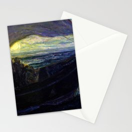 African American Masterpiece 'The Disciples on the Sea' by Henry Ossawa Tanner Stationery Cards