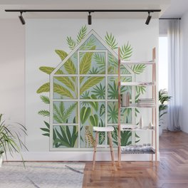jungle greenhouse Wall Mural