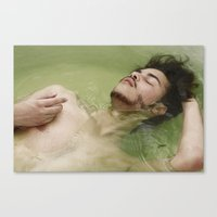 bath Canvas Prints featuring BATH by Skankotron