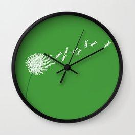Escape from the dandeLION Wall Clock