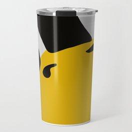 Linux tux Penguin eyes Travel Mug