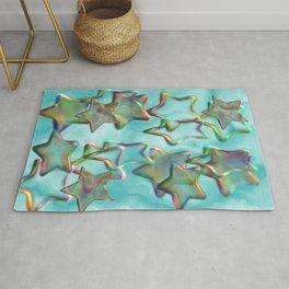 Marbled Stars Rug