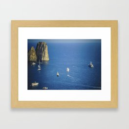 Capri, Amalphi Coast, Italy 7 Framed Art Print