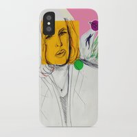 scully iPhone & iPod Cases featuring Dana Scully by Alyssa Taylor