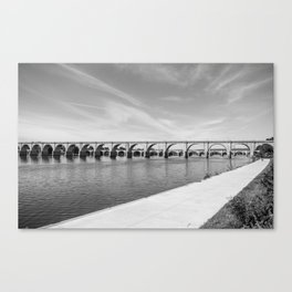 Shipoke's View of the Susquehanna Canvas Print