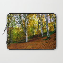 Autumn Trees Woodland Laptop Sleeve