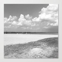 La plage – The Beach Canvas Print