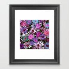 Flower carpet(60) Framed Art Print