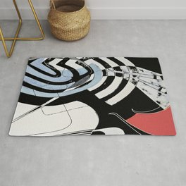 Night Owl Surfers Rug