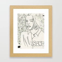 Jil  Framed Art Print
