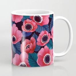 Midnight Poppy Field Coffee Mug