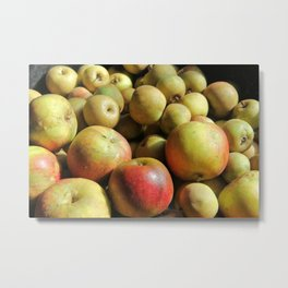 Autumn Apple Harvest Metal Print