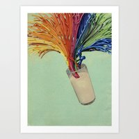 milk Art Prints featuring Milk by fotos de almanaque