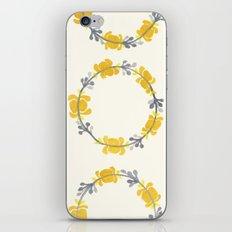 marigold iPhone Skin