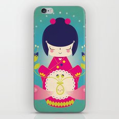Nacer / Born iPhone & iPod Skin