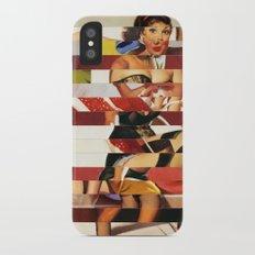 Glitch Pin-Up Redux: Emma Slim Case iPhone X