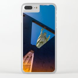 Liberty Burning Clear iPhone Case