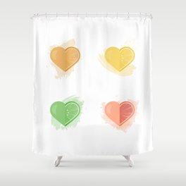 Citrus Love Shower Curtain