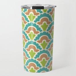 Fan Pattern 103 Travel Mug