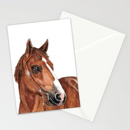 Brown Horse Stationery Cards