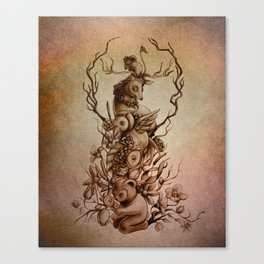 Cute Totem Canvas Print