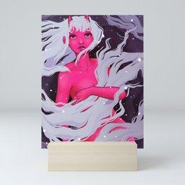 Sleepy Demon Mini Art Print