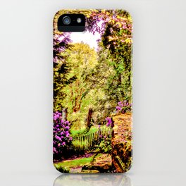 Essence of Nature iPhone Case