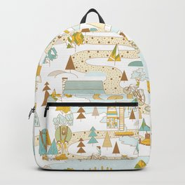Over the River and Through the Woods Backpack