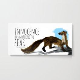 Innocence (c) 2017 Metal Print