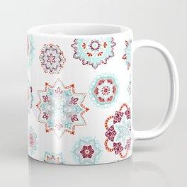 Fiery mini mandalas Pattern Coffee Mug
