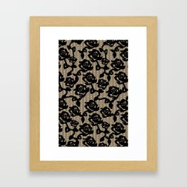 Rose Lace 1  Framed Art Print