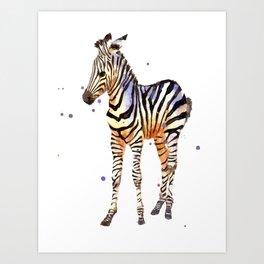 Striped Sweetie Art Print