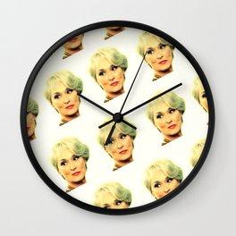 Meryl Streep DWP Wall Clock