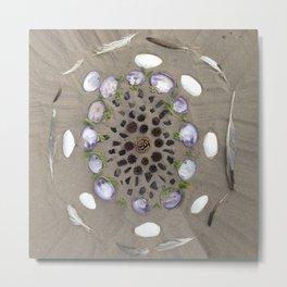 Nature mandala - 001 Metal Print