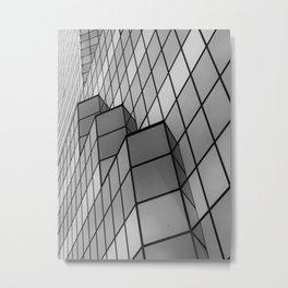 Skyscraper in b&w Metal Print