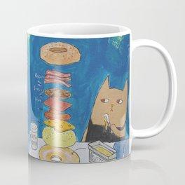 Caticorn Bagels Coffee Mug