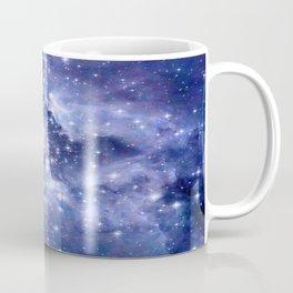 Cobalt Dreams, Universe Stars Space Nebula Coffee Mug