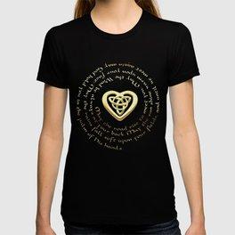 Irish Blessing & Celtic Heart T-shirt