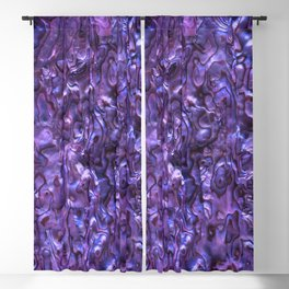 Abalone Shell | Paua Shell | Sea Shells | Patterns in Nature | Violet Tint | Blackout Curtain